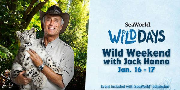 SeaWorld Orlando's Wild Days with Jack Hanna