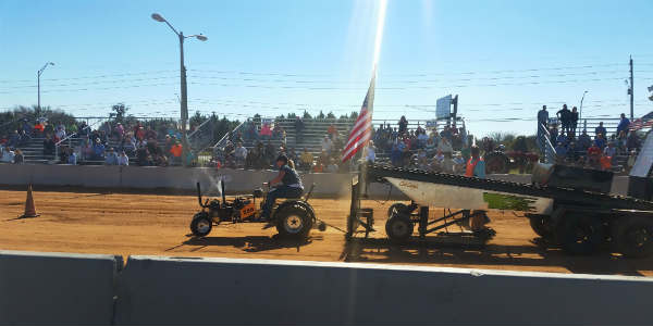 Osceola County Fair - tractor pull - photo by Carol Garreans