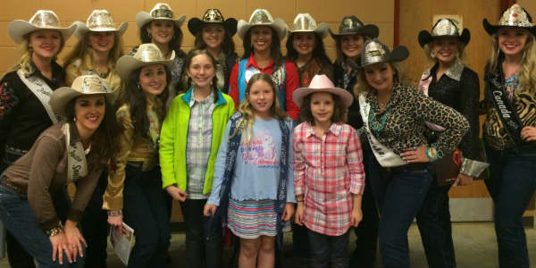 2016 Silver Spurs Rodeo - Rodeo Queens