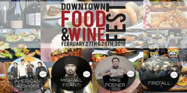 Downtown Food & Wine Fest Orlando 2016
