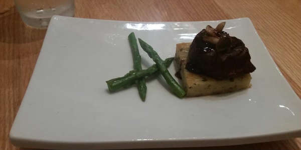 LakeHouse Restaurant at Hyatt Regency Grand Cypress - filet mignon  - photo John Frost