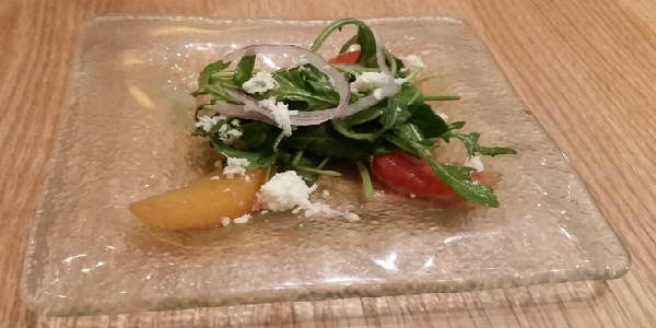 LakeHouse Restaurant at Hyatt Regency Grand Cypress - salad  - photo John Frost