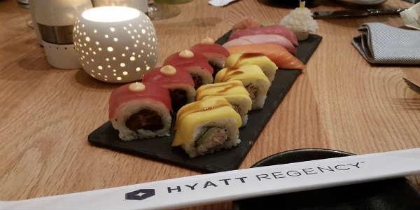 LakeHouse Restaurant at Hyatt Regency Grand Cypress - sushi  - photo John Frost