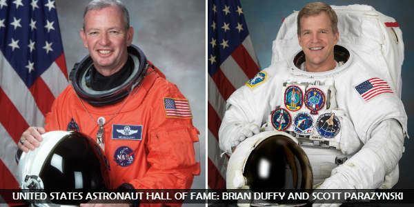 Astronauts Brian Duffy and Scott Parazynski To Be Inducted Into United States Astronaut Hall of Fame