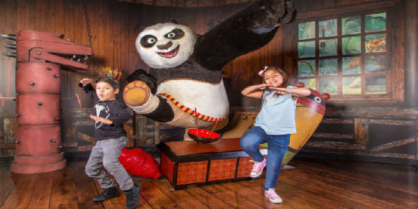 Kung Fu Panda Arrives at Madame Tussauds Orlando