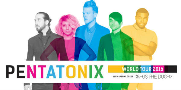 Grammy award winners Pentatonix have announced the first tour dates ...