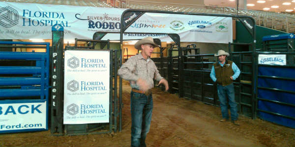 Silver Spurs Rodeo - Tater Porter and Scott Ramsey