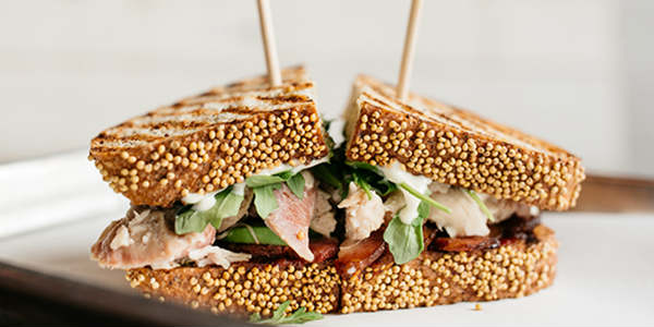 Swine & Sons sandwich