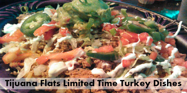 Tijuana Flats - ground turkey Norrito