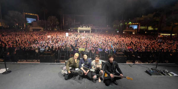 Fall Out Boy Draws Capacity Crowds to Mardi Gras at Universal Orlando