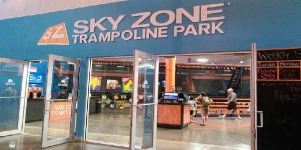 Artegon Marketplace - Sky Zone Trampoline Park