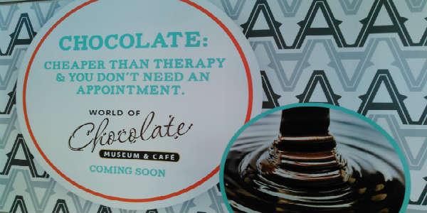 Artegon Marketplace - World of Chocolate Museum & Cafe