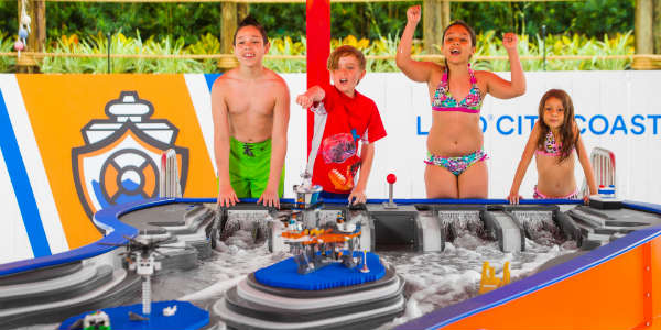 Creation Cove's Build A Boat at LEGOLAND Florida