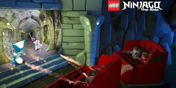 LEGO NINJAGO The Ride at LEGOLAND Florida
