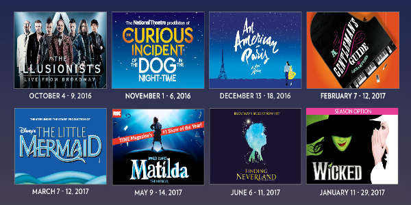 FAIRWINDS Broadway in Orlando 2016/2017 season at Dr Phillips Center