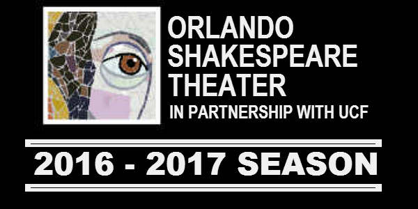 Orlando Shakespeare Theater 2016-2017 Season