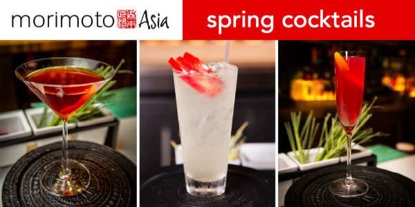 Morimoto Asia Spring 2016 limited cocktails
