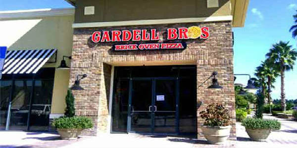 Gardell Brothers Brick Oven Pizza in Hunter's Creek in Orlando