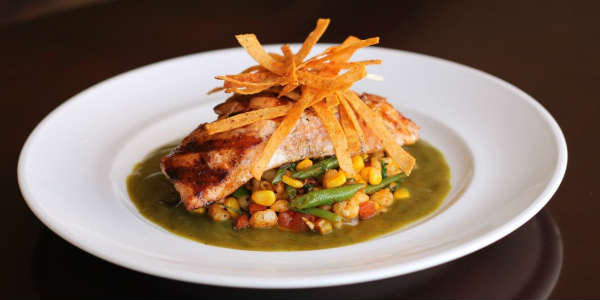 Marlow's Tavern at Chipotle Lime Glazed Grilled Atlantic Salmon