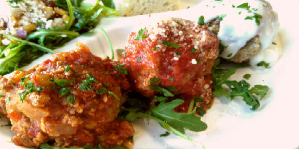 The Meatball Stoppe - meatballs