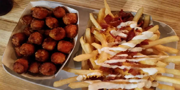 The Pincho Factory Dr Phillips - fries and tots