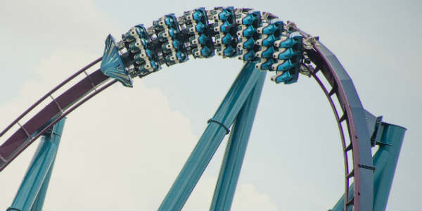 Mako at SeaWorld Orlando - test run