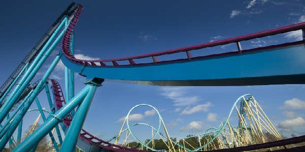 Mako track at SeaWorld Orlando