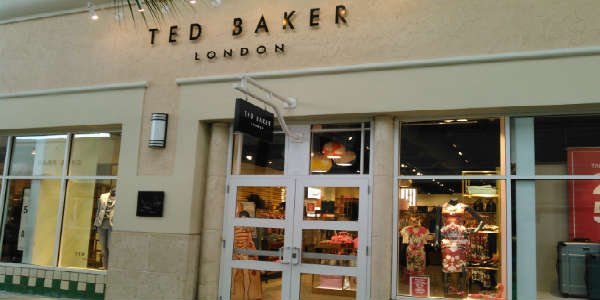 Ted Baker store at Orlando Premium Outlets - Vineland