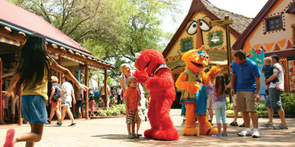 Sesame Street Safari of Fun Weekends at Busch Gardens Tampa