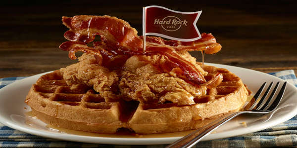 Hard Rock Cafe at Universal Orlando CityWalk is now serving breakfast daily