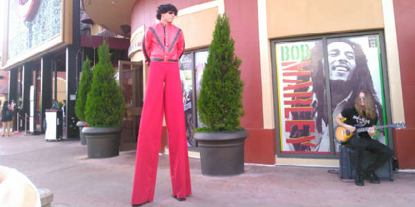 Hard Rock Cafe at Universal Orlando CityWalk - Stiltwalker