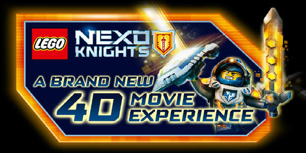 LEGO NEXO KNIGHTS 4D: The Book of Creativity now open at LEGOLAND Florida