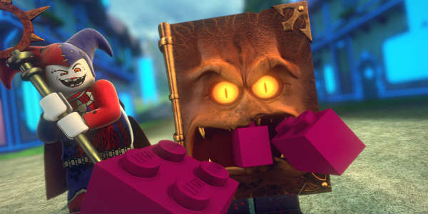 LEGO NEXO KNIGHTS 4D: The Book of Creativity - Book of Monsters