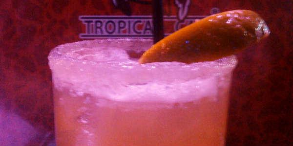 Mango's Orlando - Georgia Peach margarita