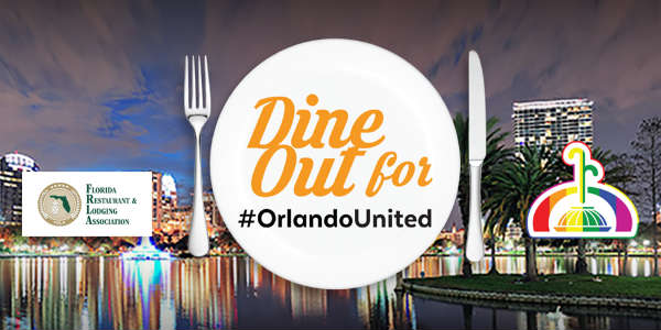 Dine Out for #OrlandoUnited on June 30