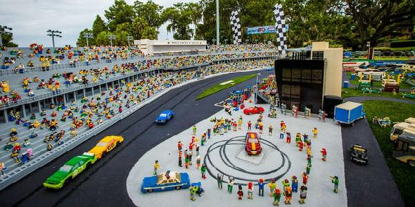 LEGOLAND Florida Unveils New Daytona International Speedway Model ...