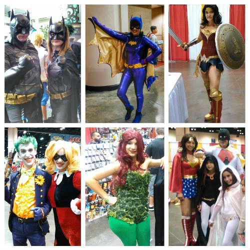 MegaCon 2016 - DC Comic-inspired cosplay