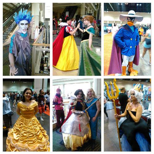 MegaCon 2016 - Disney-inspired cosplay