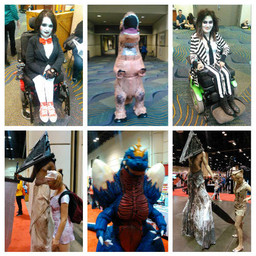 MegaCon 2016 - horror-inspired cosplay