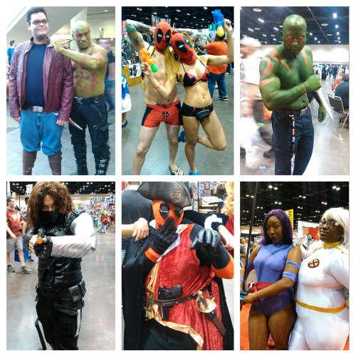 MegaCon 2016 - Marvel-inspired cosplay