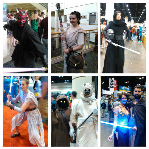 MegaCon 2016 - Star Wars-inspired cosplay