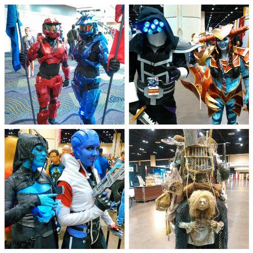 MegaCon 2016 - various cosplay