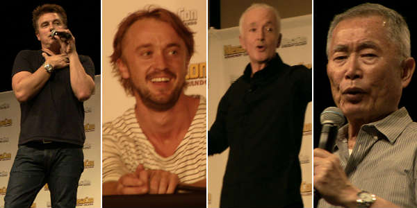 MegaCon 2016 - John Barrowman, Tom Felton, Anthony Daniels, and George Takei