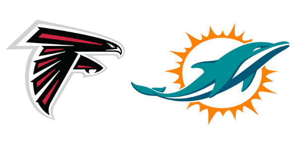 Miami Dolphins play the Atlanta Falcons in a preseason game on August 25, 2016 at Camping World Stadium.
