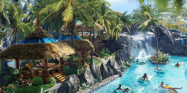 Universal Orlando Volcano Bay - Wave Village