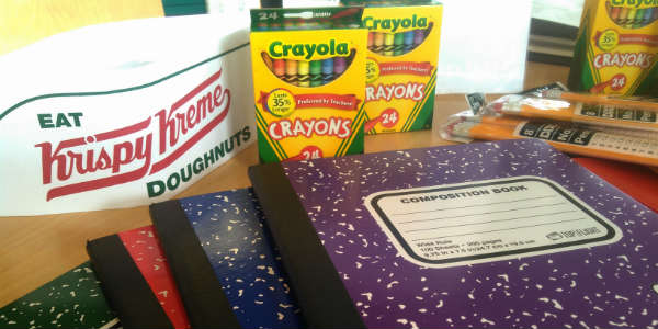 Krispy Kreme and The Salvation Army Launch Annual Stuff the Bus School Supply Drive