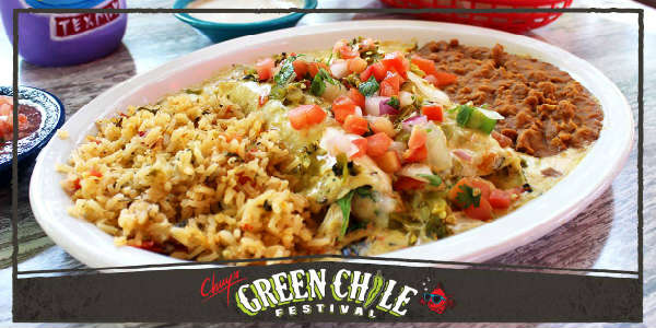 Chuy's Kicks Off 28th Green Chile Fest August 15