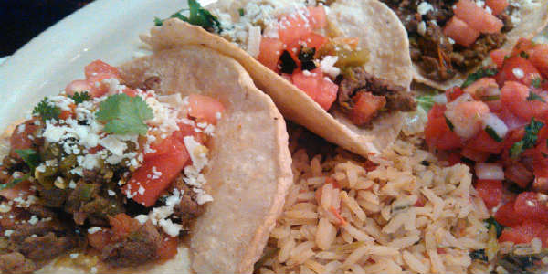 Chuy's Green Chile Fest - Green Chile Street Tacos