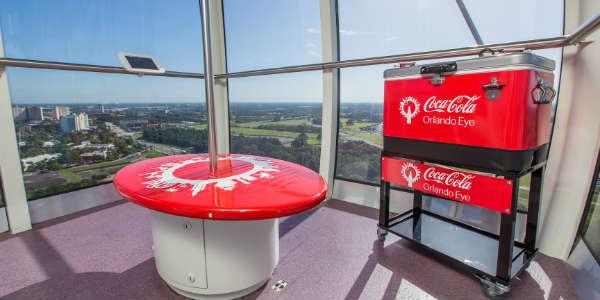 The Orlando Eye Becomes The Coca Cola Orlando Eye - a Coca-Cola branded capsule