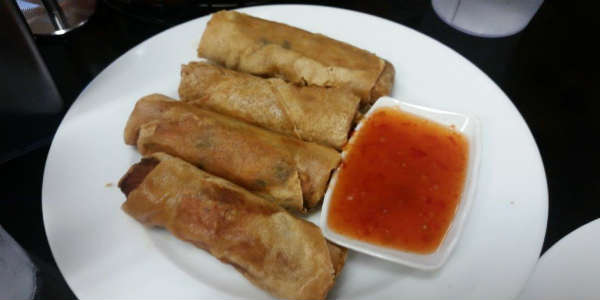 House of Pho Opens in Orlando - Crispy Spring Rolls